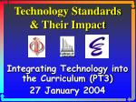 Technology Standards & Their Impact