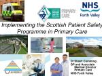Implementing the Scottish Patient Safety Programme in Primary Care