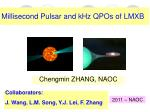 Millisecond Pulsar and kHz QPOs of LMXB