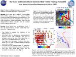Hurricane and Severe Storm Sentinel (HS3)—Initial Findings from 2013