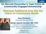 UC Merced Chancellor's Task Force on Community Engaged Scholarship