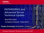 PATHWORKS and Advanced Server Technical Update