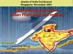 Jewels of India Conference Singapore: November 2001