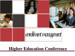 Higher Education Conference