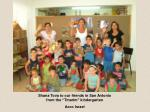 "Shana Tova to our friends in San Antonio from the ""Tmarim"" kindergarten Acco Israel"