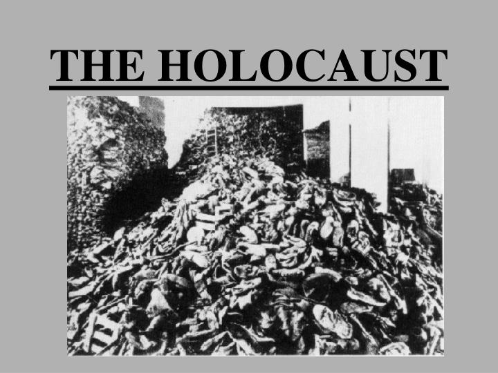 the holocaust n.