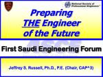 Preparing  THE  Engineer  of the Future