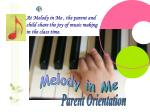 Melody in Me