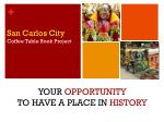 San Carlos City  Coffee Table Book Project