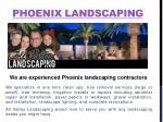 Phoenix Landscaping Experts