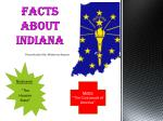 Facts about Indiana