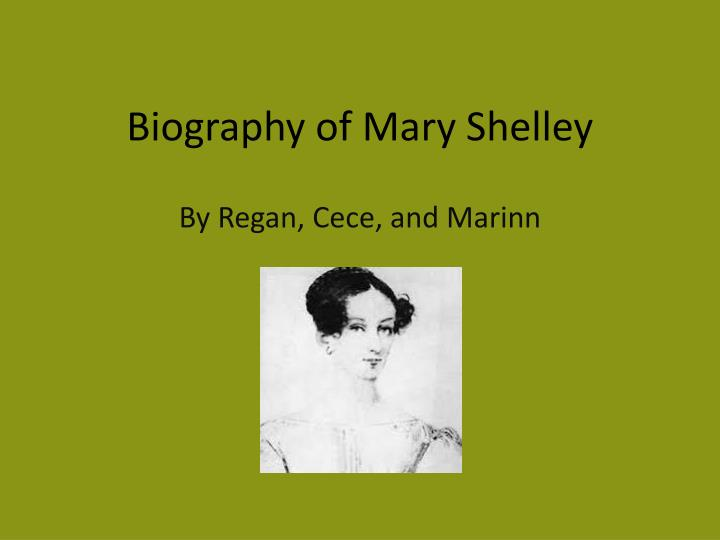 biography of mary shelley n.
