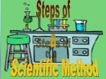 Steps of a Scientific Method