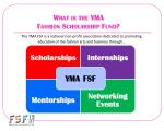 What is the YMA Fashion Scholarship Fund?