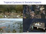 Tropical Cyclones & Societal Impacts