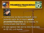 PIRAMIDES FINANCIERAS