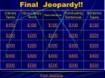 Final  Jeopardy!!