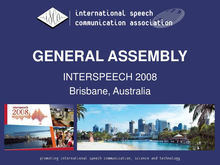 general assembly n.
