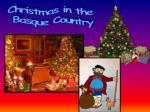 Christmas in the  Basque Country