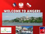 WELCOME TO ANGERS
