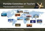 Portfolio Committee on Tourism
