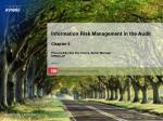 KPMG Information Risk Management (IRM) Audit Team – Overview of IT Controls
