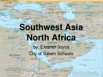 Southwest Asia North Africa