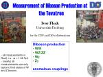 Measurement of Diboson Production at the Tevatron