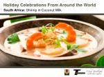 Holiday Celebrations From Around the World