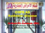 COPD AS Systemic disease