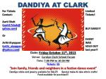 DANDIYA AT CLARK