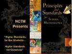 An Overview of the   Geometry Standards for School Mathematics?