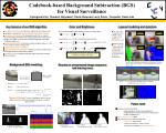 Codebook-based Background Subtraction (BGS) for Visual Surveillance