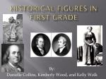 Historical Figures in  First Grade