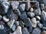 Are you Raising Your Ebenezer?