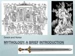 Mythology: A BRIEF INTRODUCTION