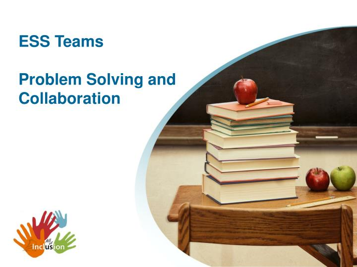 ess teams problem solving and collaboration n.